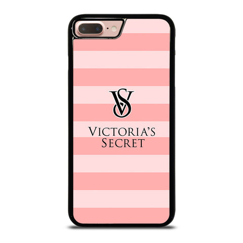 VICTORIA'S SECRET PINK STRIPES 2-iphone-8-plus-case-cover