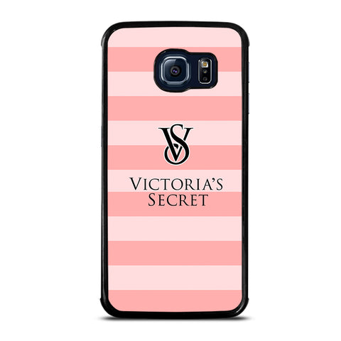 VICTORIA'S SECRET PINK STRIPES 2-samsung-galaxy-S6-edge-case-cover
