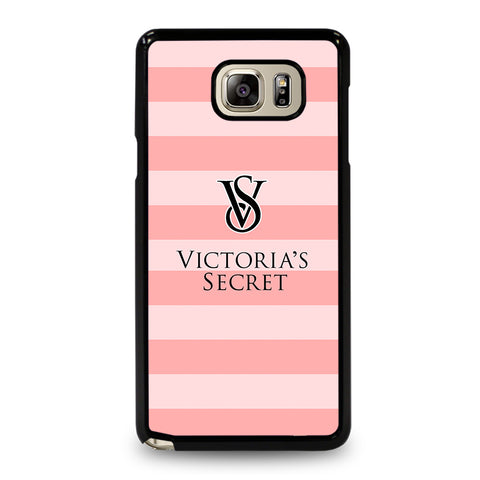 VICTORIA'S SECRET PINK STRIPES 2-samsung-galaxy-note-5-case-cover