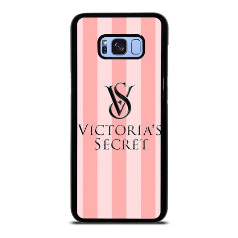 VICTORIA'S SECRET PINK STRIPES-samsung-galaxy-S8-plus-case-cover