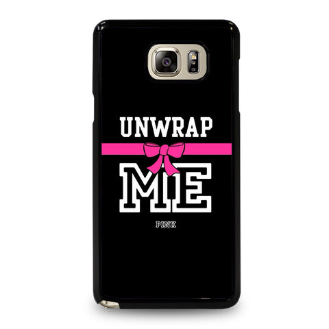 VICTORIA'S SECRET PINK UNWRAP ME-samsung-galaxy-note-5-case-cover