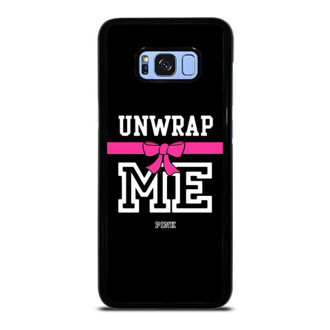 VICTORIA'S SECRET PINK UNWRAP ME-samsung-galaxy-S8-plus-case-cover