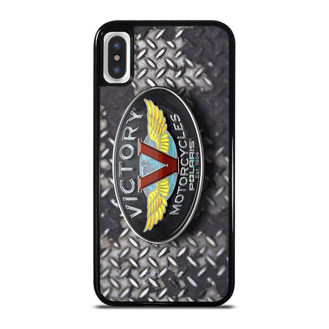 VICTORY MOTORCYCLES EMBLEM-iphone-x-case-cover