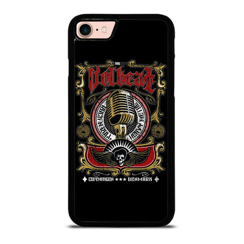 VOLBEAT HEAVY METAL NEW LOGO-iphone-8-case-cover