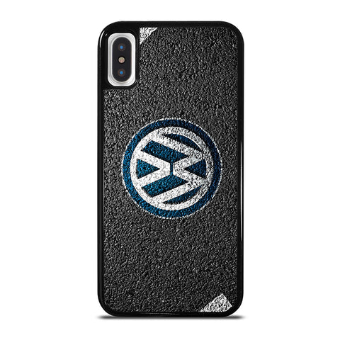 VW LOGO ROAD iPhone X / XS Case - Best Custom Phone Cover Cool Personalized Design