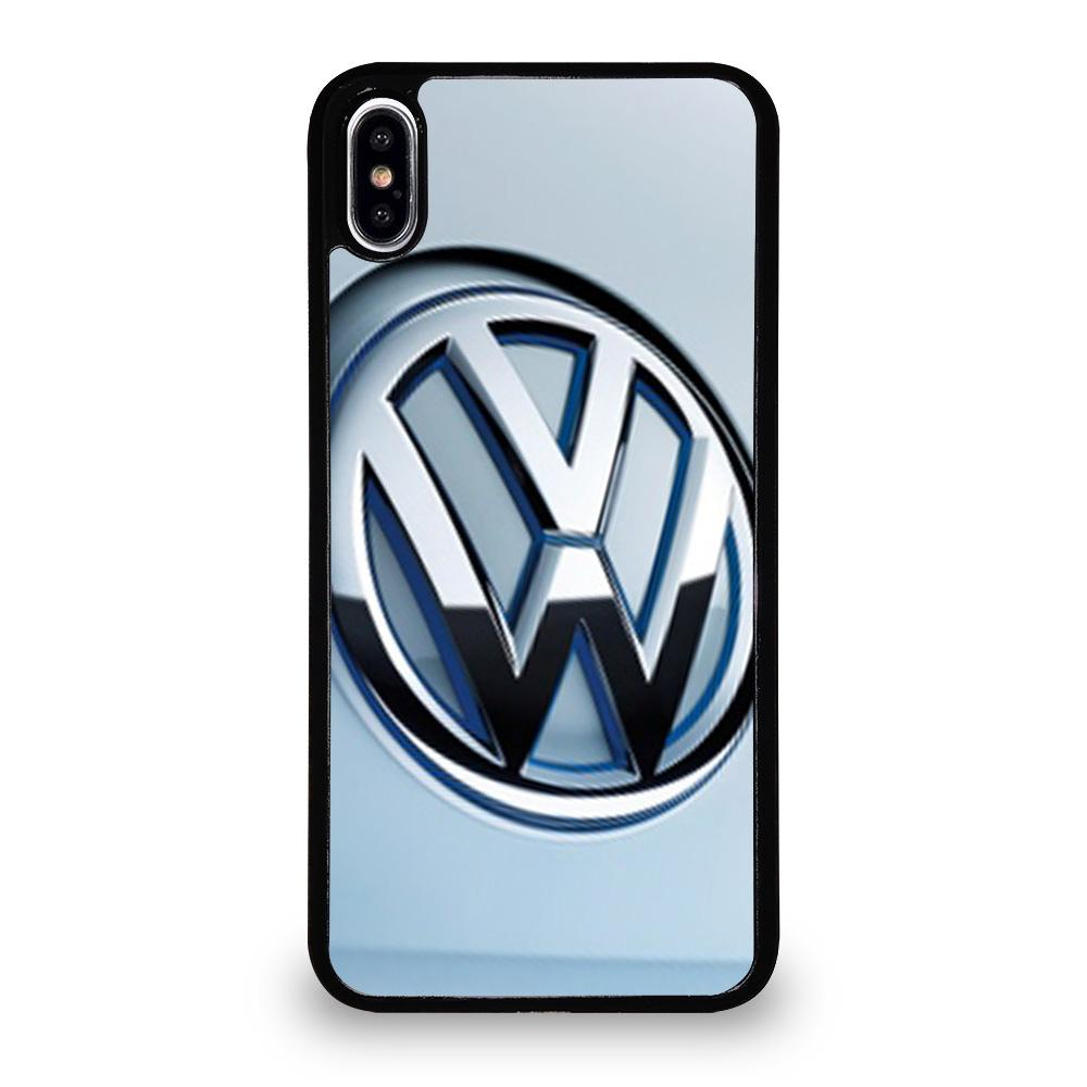 Vw volkswagen logo iphone xs max case cover