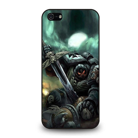 WARHAMMER-BLACK-TEMPLAR-iphone-5-5s-case-cover