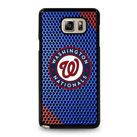 WASHINGTON NATIONAL PLATE LOGO-samsung-galaxy-note-5-case-cover