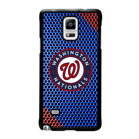 WASHINGTON NATIONAL PLATE LOGO-samsung-galaxy-note-4-case-cover