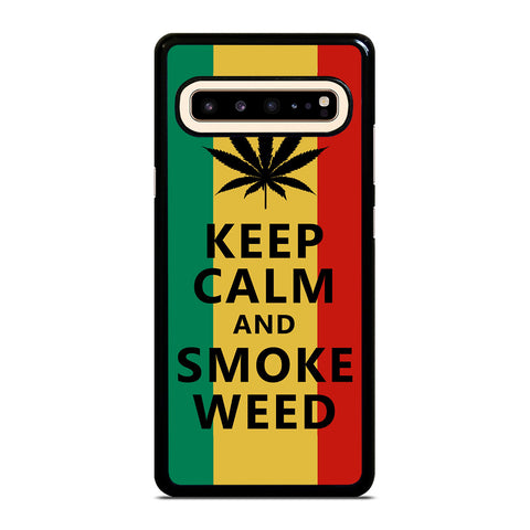 WEED MARIJUANA QUOTES-samsung-galaxy-s10-5g-case-cover