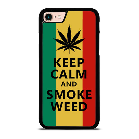 WEED MARIJUANA QUOTES iPhone 8 Case Cover