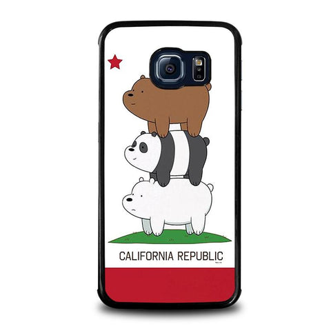 WE-BARE-BEARS-CALIFORNIA-REPUBLIC-samsung-galaxy-s6-edge-case-cover
