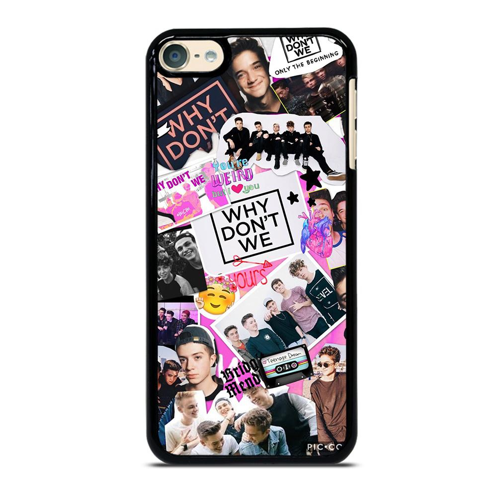 new styles 6e93a 2831d WHY DON'T WE COLLAGE iPod Touch 6 Case Cover - Favocase