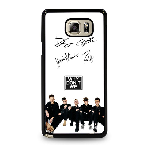 WHY DON'T WE SIGNATURE-samsung-galaxy-note-5-case-cover
