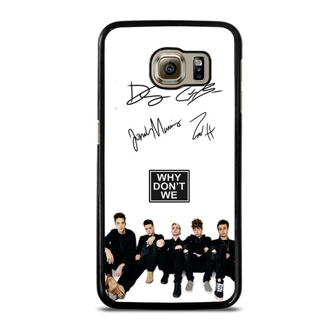 WHY DON'T WE SIGNATURE-samsung-galaxy-S6-case-cover