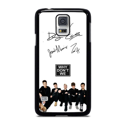 WHY DON'T WE SIGNATURE-samsung-galaxy-S5-case-cover