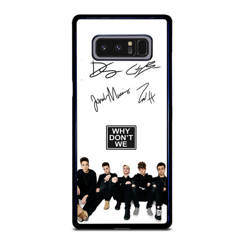 WHY DON'T WE SIGNATURE-samsung-galaxy-note-8-case-cover