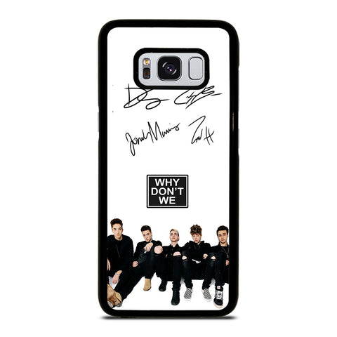 WHY DON'T WE SIGNATURE-samsung-galaxy-S8-case-cover