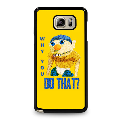 WHY YOU DO THAT SML JEFFY-samsung-galaxy-note-5-case-cover