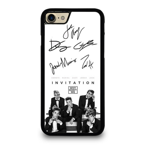 WHY DON'T WE SIGNATURE 2 iPhone 7 Case Cover