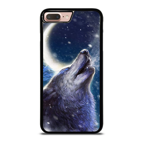 WILD WOLF-iphone-8-plus-case-cover