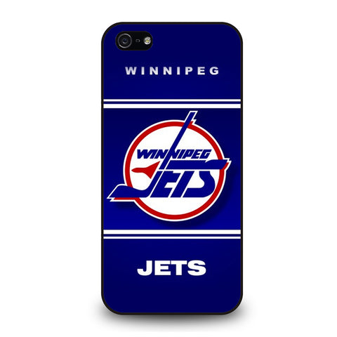 WINNIPEG JETS HOCKEY ICE LOGO iPhone 5 / 5S / SE Case Cover