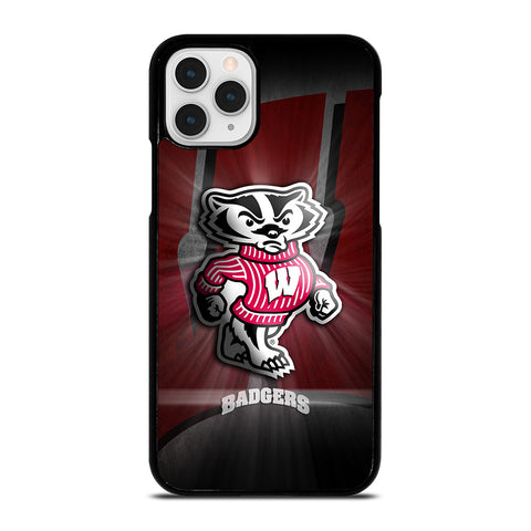 WISCONSIN BADGER LOGO-iphone-11-pro-case-cover