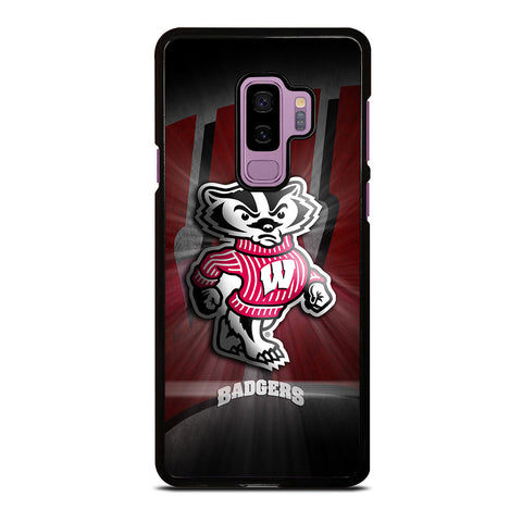 wisconsin-badger-logo-samsung-galaxy-s9-plus-case-cover