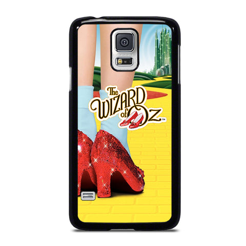 WIZARD OF OZ DOROTHY RED SLIPPERS-samsung-galaxy-S5-case-cover
