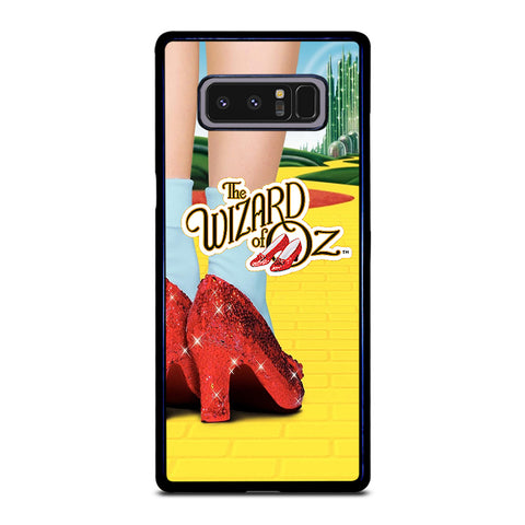 WIZARD OF OZ DOROTHY RED SLIPPERS-samsung-galaxy-note-8-case-cover