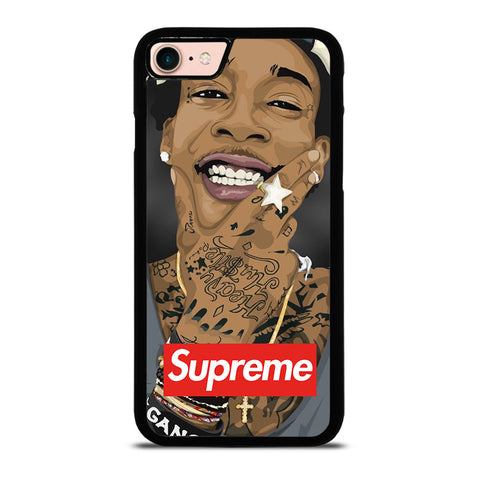 WIZ KHALIIFA X SUPREME-iphone-8-case-cover