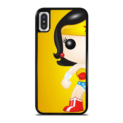 WONDER WOMAN KAWAII iPhone X / XS Case - Best Custom Phone Cover Cool Personalized Design