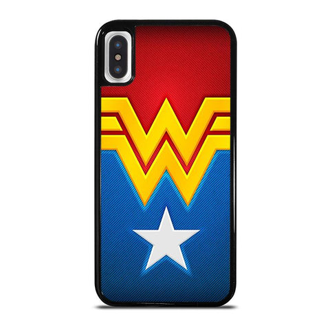 WONDER-WOMAN-LOGO-iphone-x-case-cover
