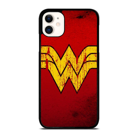 WONDER WOMAN LOGO ART-iphone-11-case-cover