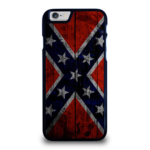 WOODEN REBEL FLAG-iphone-6-6s-case-cover