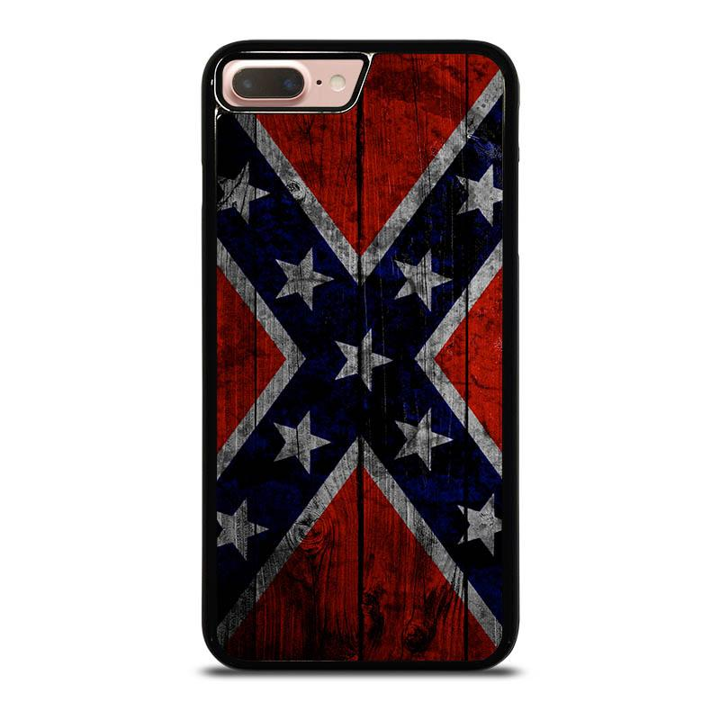 the best attitude a4fe9 55e91 WOODEN REBEL FLAG iPhone 8 Plus Case Cover - Favocase