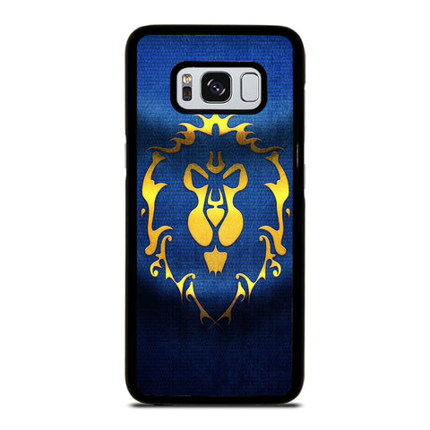 WORLD OF WARCRAFT ALLIANCE WOW FLAGE-samsung-galaxy-S8-case-cover