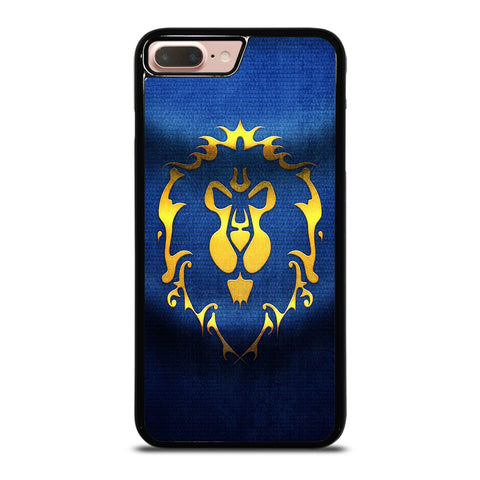 WORLD OF WARCRAFT ALLIANCE WOW FLAGE-iphone-8-plus-case-cover