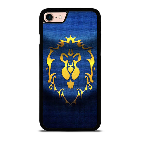 WORLD OF WARCRAFT ALLIANCE WOW FLAGE-iphone-8-case-cover