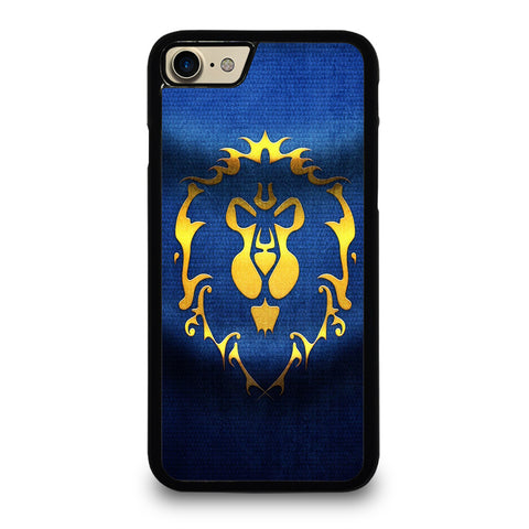 WORLD OF WARCRAFT ALLIANCE WOW FLAGE-iphone-7-case-cover