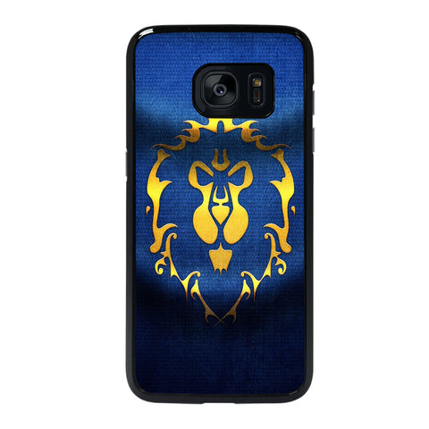 WORLD OF WARCRAFT ALLIANCE WOW FLAGE-samsung-galaxy-#REF!-edge-case-cover