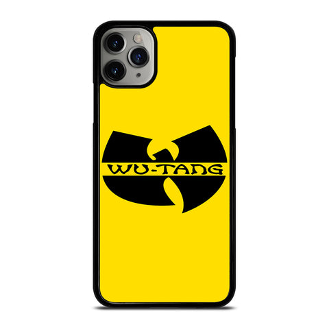 WUTANG CLAN LOGO iPhone 6/6S 7 8 Plus X/XS XR 11 Pro Max Case - Cool Custom Phone Cover