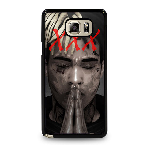 XXXTENTACION FACE-samsung-galaxy-note-5-case-cover