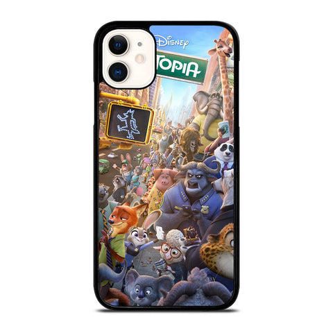 ZOOTOPIA CHARACTERS Disney-iphone-11-case-cover