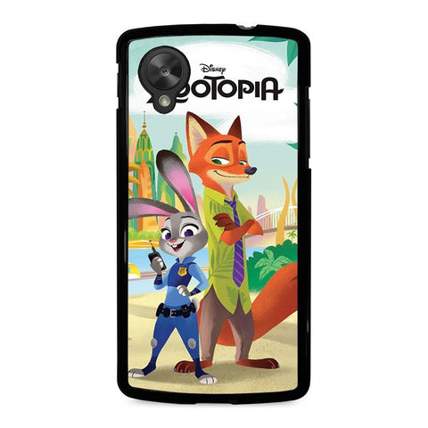ZOOTOPIA-JUDY-AND-NICK-Disney-nexus-5-case-cover