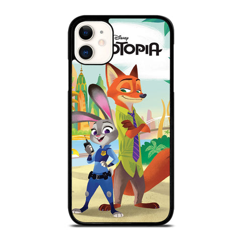 ZOOTOPIA JUDY AND NICK Disney-iphone-11-case-cover