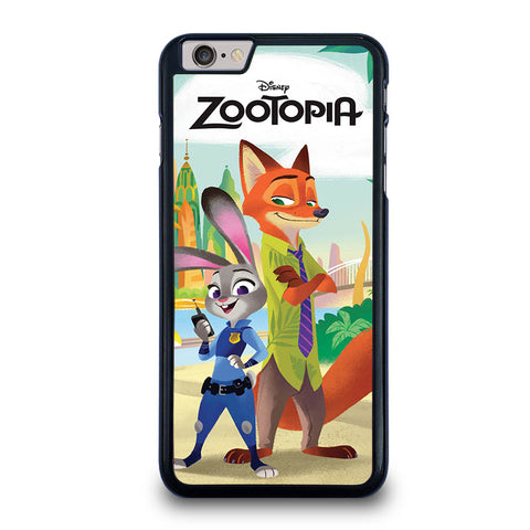 ZOOTOPIA JUDY AND NICK Disney-iphone-6-6s-plus-case-cover