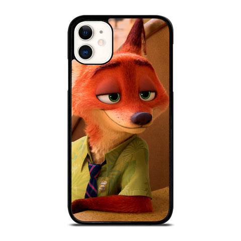 ZOOTOPIA NICK WILDE Disney-iphone-11-case-cover