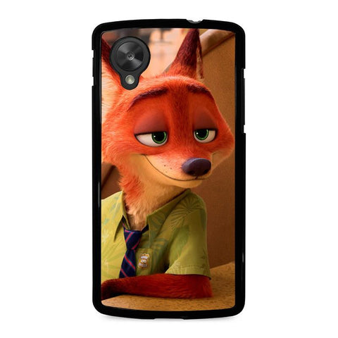 ZOOTOPIA-NICK-WILDE-Disney-nexus-5-case-cover