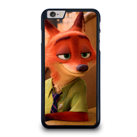 ZOOTOPIA NICK WILDE Disney-iphone-6-6s-plus-case-cover